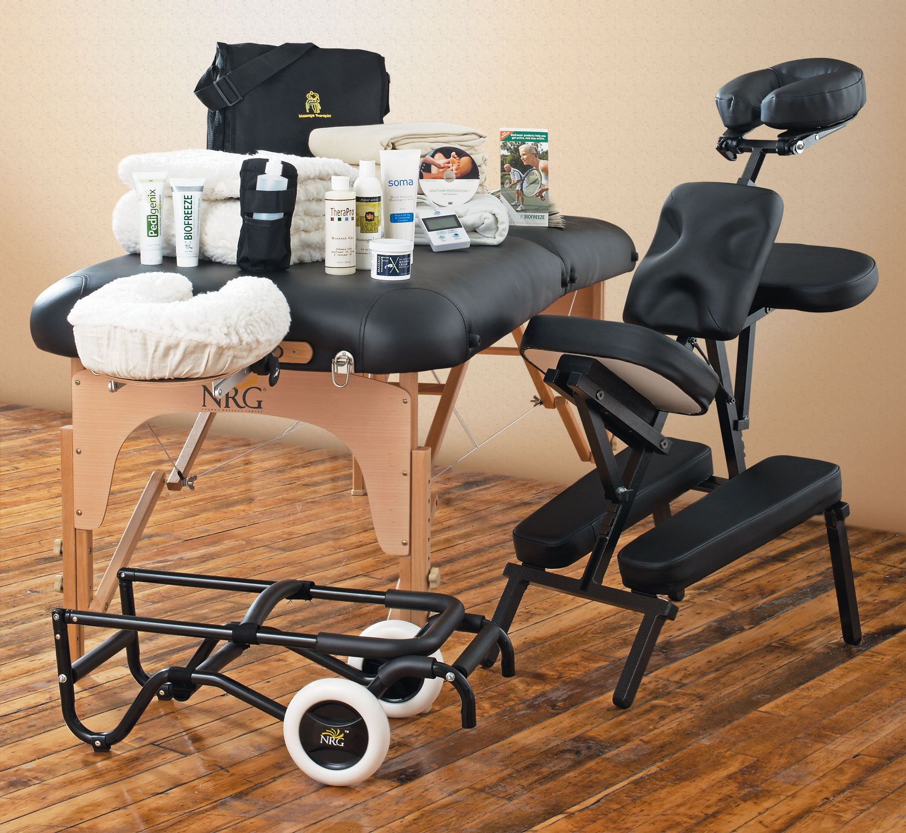 Lightweight portable massage table - Ultimate Business Starter Package Vedalux Upgrade