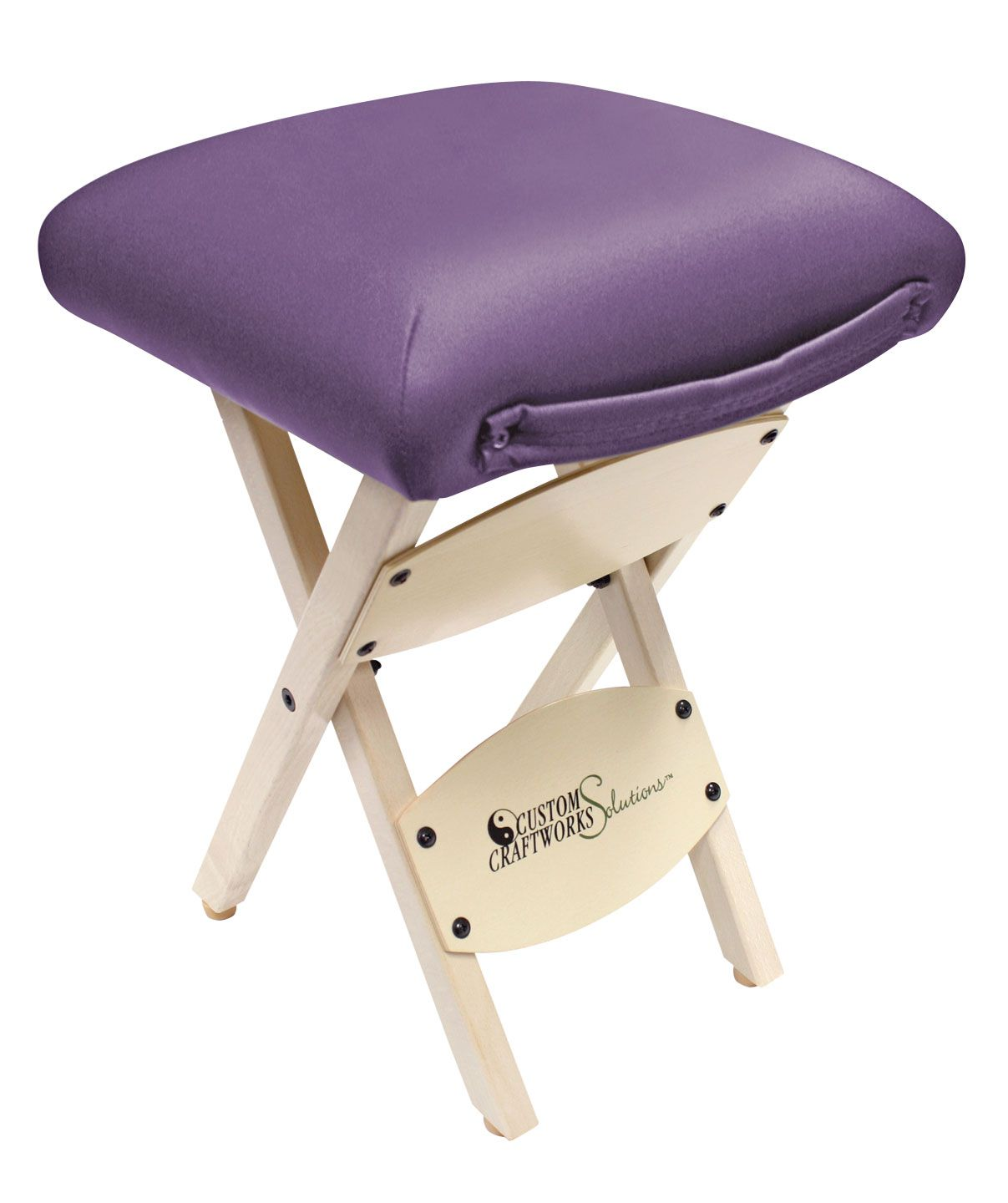 Custom Craftworks Solutions Wooden Folding Stool For Sale