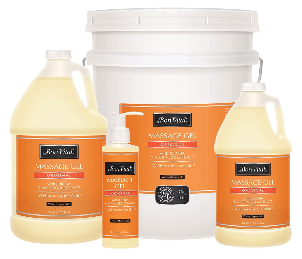 bon vital 39 original massage gel with jojoba aloe vera extract. Black Bedroom Furniture Sets. Home Design Ideas