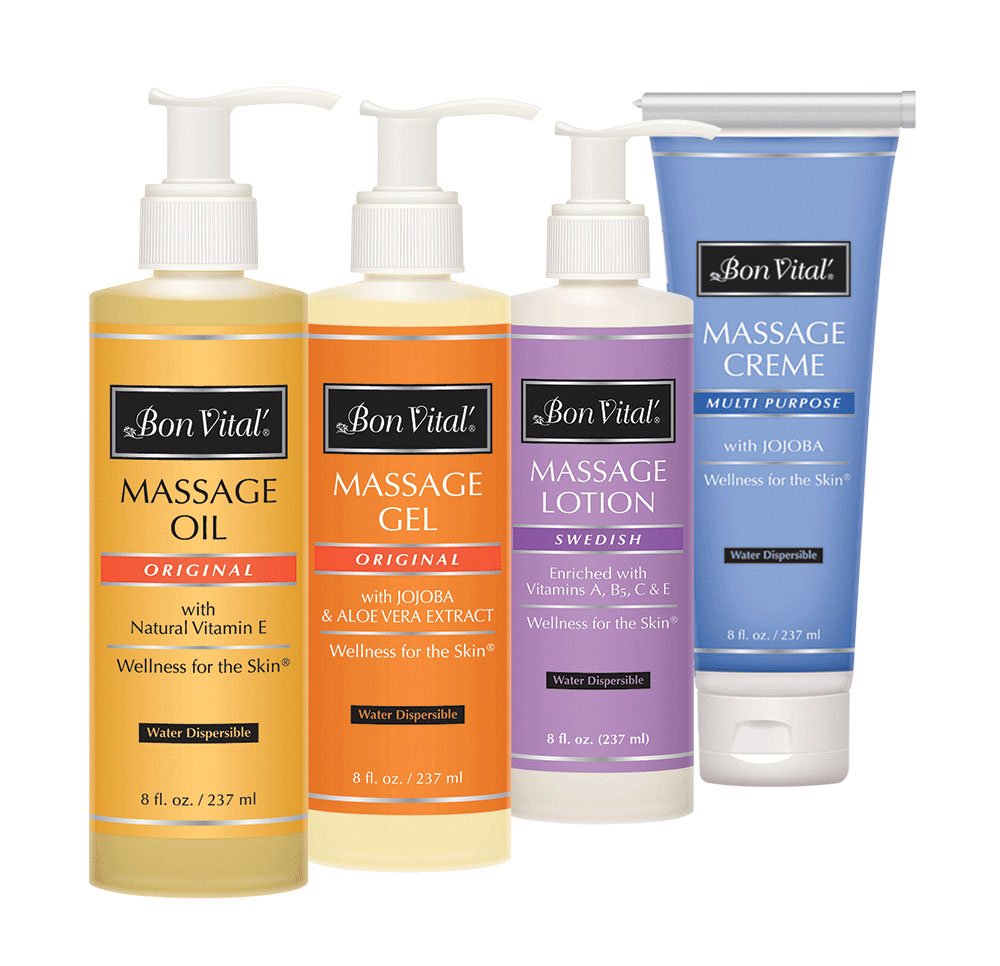 bon vital 39 classic massage lotion cream oil gel kit for sale. Black Bedroom Furniture Sets. Home Design Ideas