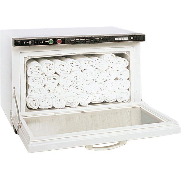 Spa Cold Towels: Hot Towel Cabinet With UV Sterilizer