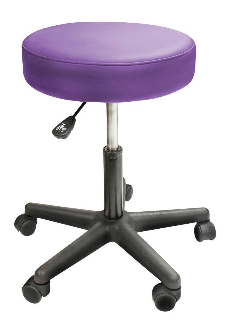 Custom Craftworks Solutions Rolling Stool Massage Stool