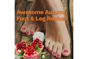 Awesome Autumn Foot & Leg Revival