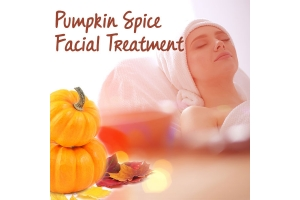 Pumpkin Spice Facial Treatment
