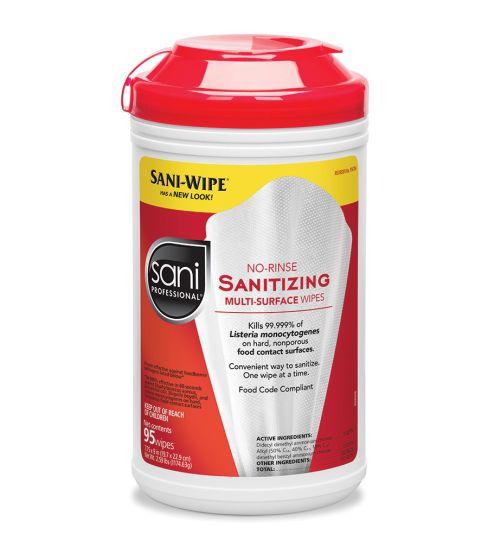 Sani-Professional Norinse Sntzng Multsurfc Wipes