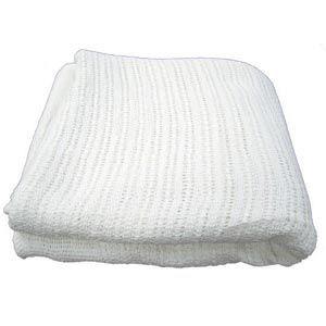 Thermal Cotton Blanket White 66