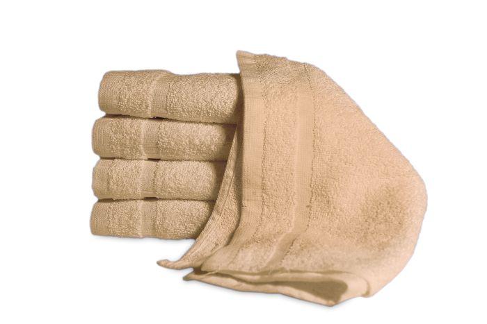 Economy Bath Towel Beige - Dozen 22