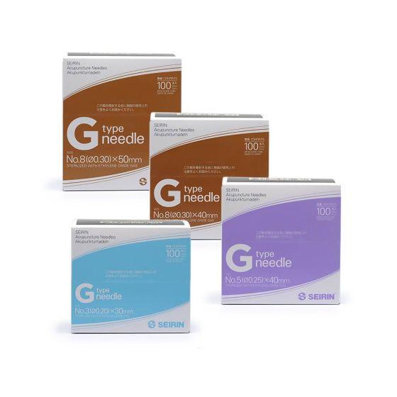 Seirin G-Type Acupuncture Needles Short Bx/100