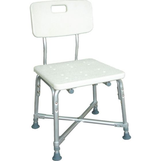 Drive Medical Deluxe Bariatric Shower Chair with Cross Frame Brace