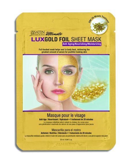 Satin Smooth® LUX Foil Sheet Masks