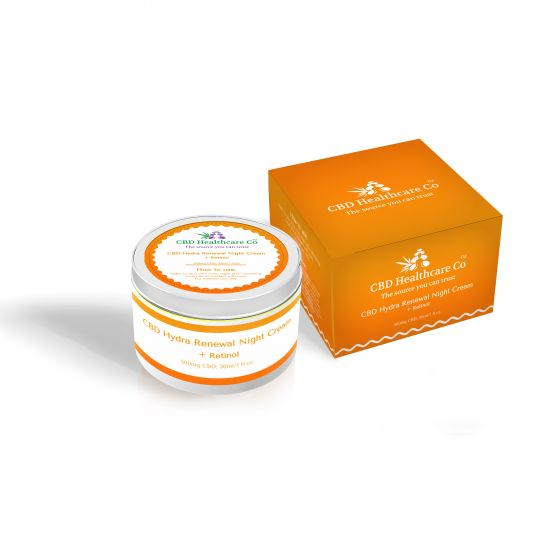 CBD Healthcare Company™ CBD Hydra Renewal Night Cream