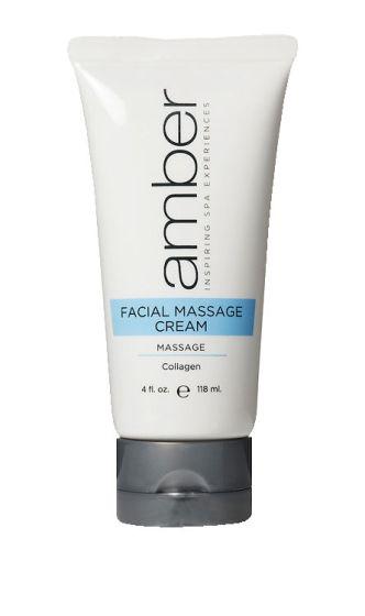 Amber Collagen Infused Massage Cream 4 oz.
