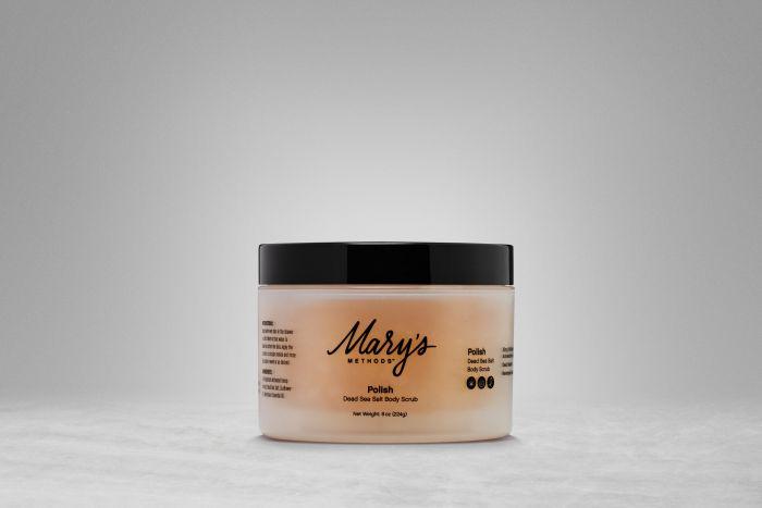 Mary's Methods Polish - Dead Sea Salt Body Scrub