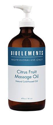 BIOELEMENTS® Citrus Fruit Massage Oil