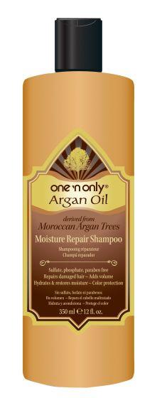 One N Only Argan Oil Moisture Repair Shampoo, 12 Oz