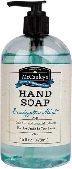 McCauley's Hand Soap Eucalyptus Mint 16 oz.