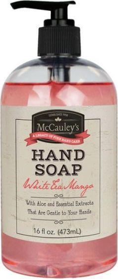 McCauley's Hand Soap White Tea Mango16 oz.