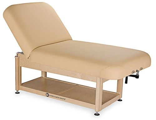 Living Earth Crafts® Napa Facial Spa Treatment Table with Shelf Base