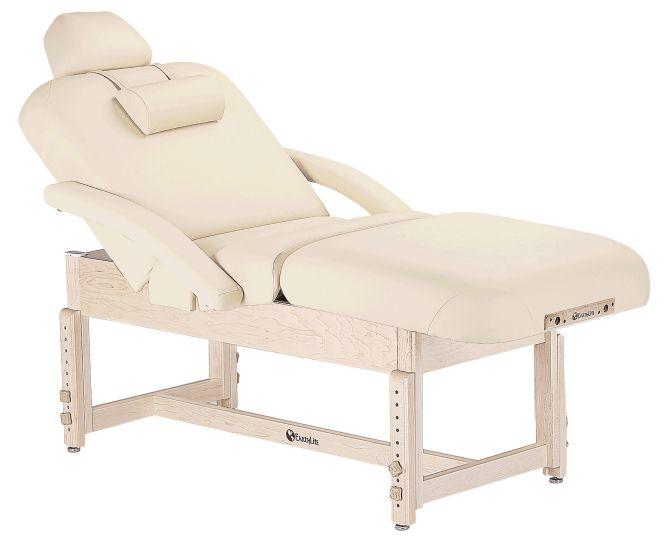 Earthlite Sedona Pneumatic Salon Top Trestle Base Table