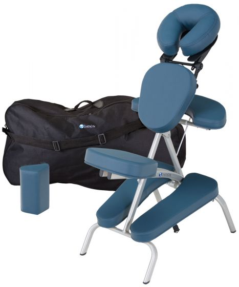 EarthLite Vortex™ Portable Massage Chair Package with Carry Case