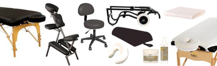 NRG® Executive Karma Portable Massage Table & Grasshopper Portable Massage Chair Package
