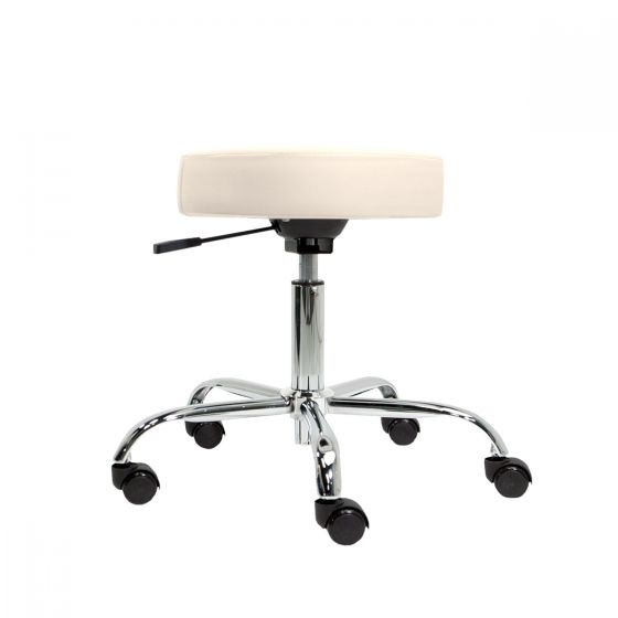 EarthLite® Pneumatic Low Height Rolling Stool without Back