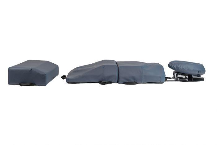 bodyCushion™ 4 Piece Body Positioning System - Medical Blue