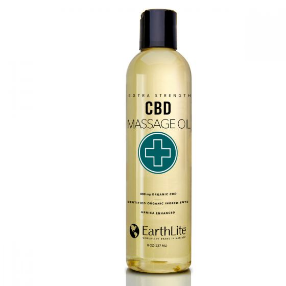 EarthLite® Organic Extra Strength CBD Massage Oil