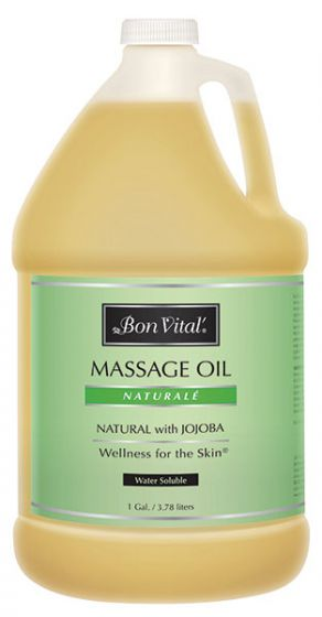 Bon Vital'® Naturalé Massage Oil - All Natural with Jojoba