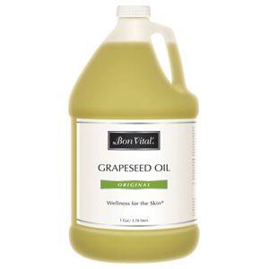 Bon Vital'® Grapeseed Massage Oil - 100% Pure Grape Seed Oil