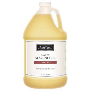 Bon Vital'® Sweet Almond Oil 1 Gallon - Sweet Almond Massage Oil