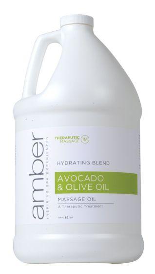 Amber Avocado & Olive Oil Massage Oil