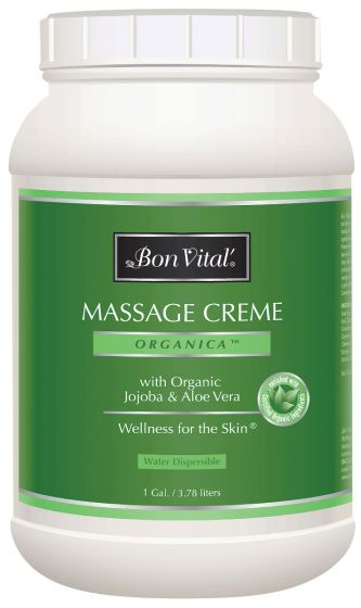 Bon Vital'® Organica™ Massage Crème - Massage Cream
