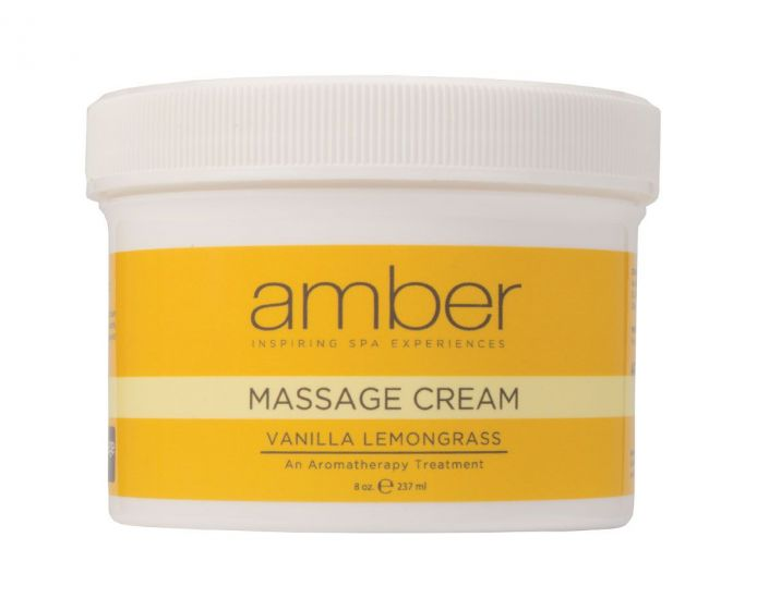 Amber Vanilla Lemongrass Massage Cream
