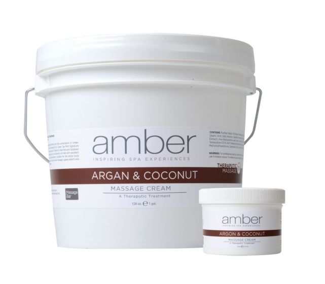 Amber Argan And Coconut Massage Cream