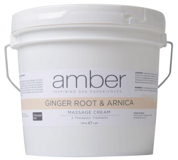 Amber Ginger Root & Arnica Massage Cream
