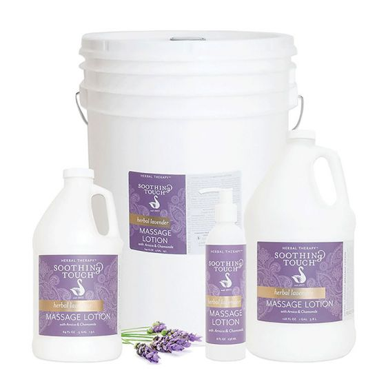 Soothing Touch Lavender Massage Lotion