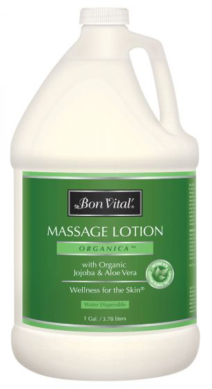 Bon Vital'® Organica™ Massage Lotion with Organic Jojoba & Aloe Vera