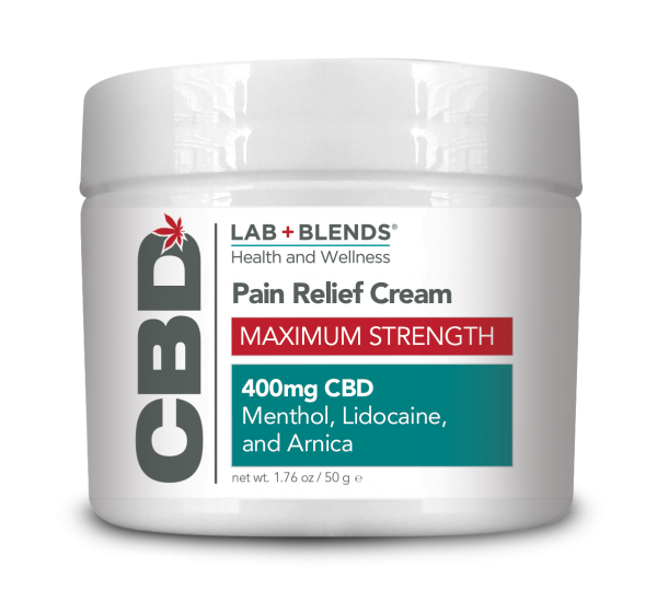 Lab+Blends™ 400mg CBD Pain Relief Max Strength Cream - 1.76 oz by BIOTONE®