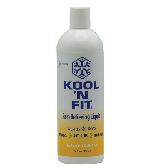 Kool 'N Fit Pain Relieving Liquid - Topical Analgesic