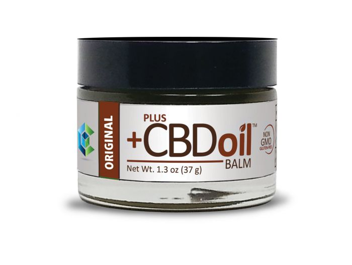 Plus CBD Oil™ Original CBD Balm - 50 mg CBD - 1.3 oz.