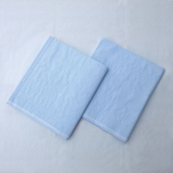 TIDI® Ultimate Tissue/Poly/Tissue Blue Drape Sheets