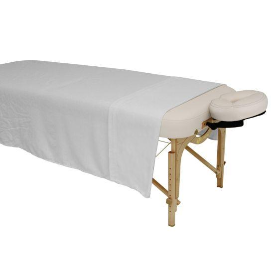Earthlite® Dura-Luxe™ Flannel Flat Sheet Single