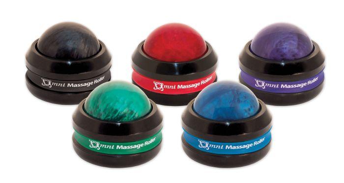Omni Massage Roller, Black Cap