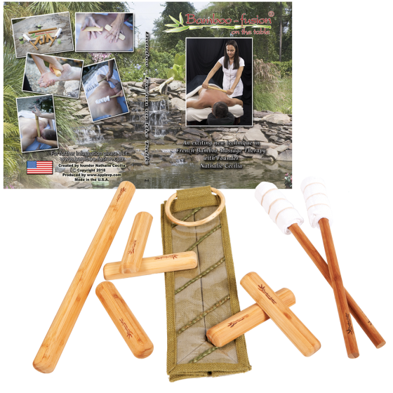 Bamboo-Fusion® Warm Bamboo Stick Set with DVD