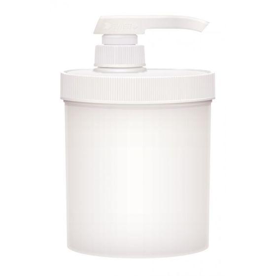 Bon Vital'® 14 oz. Empty Jar with Pump