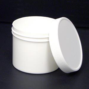 Plastic Jar With Lid 4 Oz