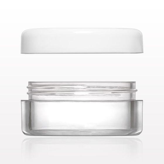 Sample Jar with Flat Thread Cap 5 Gram 300 Count