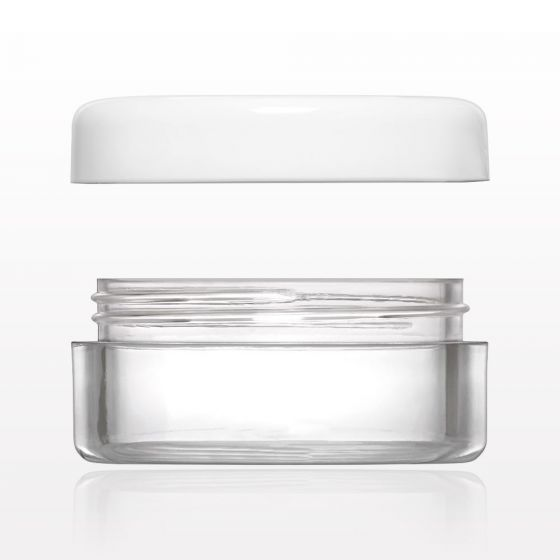 Sample Jar with Flat Thread Cap 5 Gram
