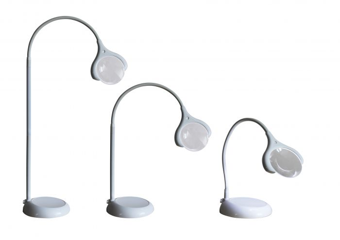 daylight™ MAGnificent Floor/Table LED Magnifying Lamp